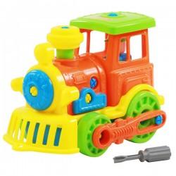 Set constructie Locomotiva Polesie