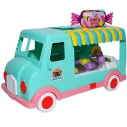 Furgoneta cu sunete si lumini Candy Truck