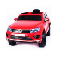 Masina electrica cu telecomanda Volkswagen Touareg 12V Rosu