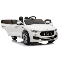 Masina electrica cu telecomanda Maserati Levante Alb