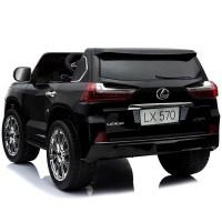 Masina electrica cu telecomanda Lexus 12V Negru
