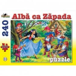 Puzzle 240 piese Colectia Povesti - Alba ca Zapada