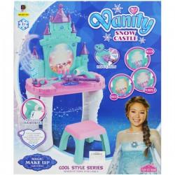 Set Masuta cu accesorii Vanity Snow Castle
