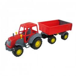 Tractor Altay cu remorca Nr.1 57cm Polesie