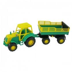 Tractor Altay cu remorca Nr.2 57cm - Polesie