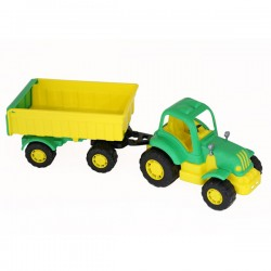 Tractor Hardy cu remorca Nr.1 42 cm - Polesie