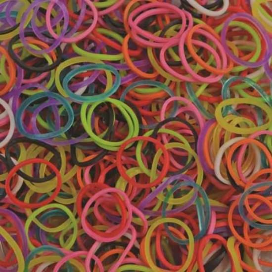 Elastice Rainbow Loom - Standard Mix