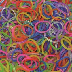 Elastice Rainbow Loom - Jelly Mix