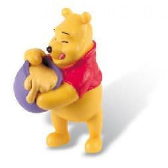 Figurina - Pooh cu vasul de miere