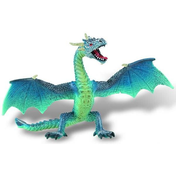 Figurina - Dragon turcoaz