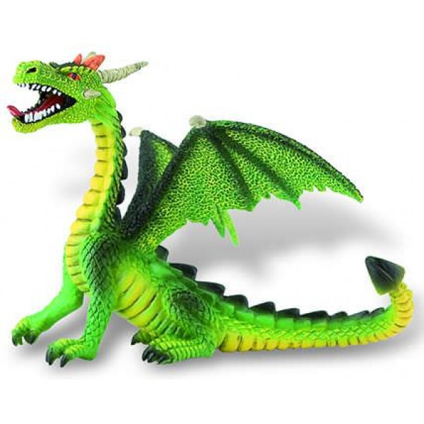 Figurina - Dragon verde