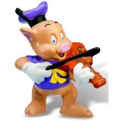 Figurina - Cei trei porcusori - Violonist