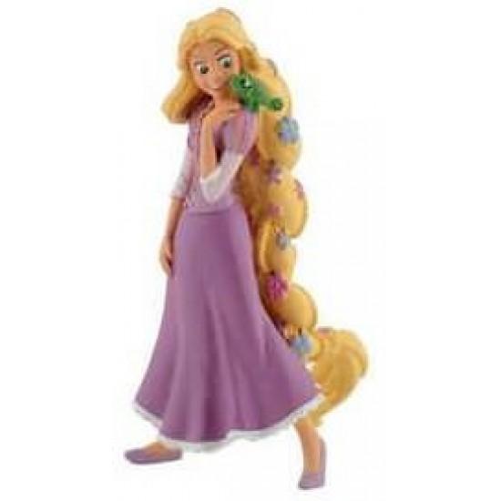 Figurina - Rapunzel cu flori