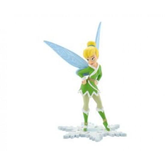 Figurina - Tinkerbell cu haina si aripi de iarna