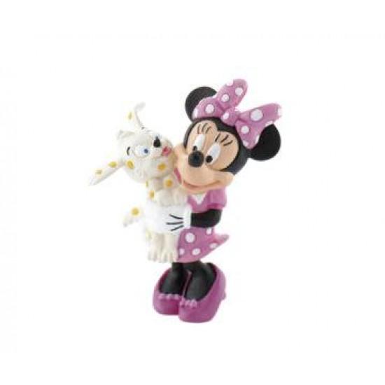 Figurina - Minnie cu catelus