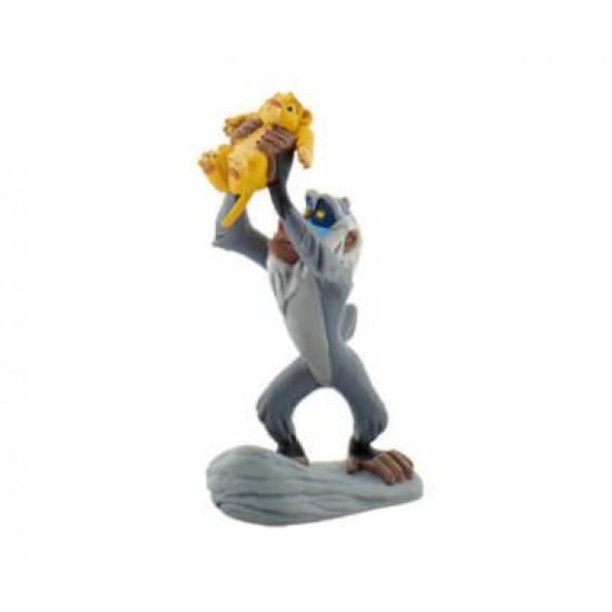 Figurina - Rafiki cu Baby Simba