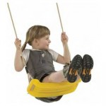 Leagan Swing Seat - Rosu
