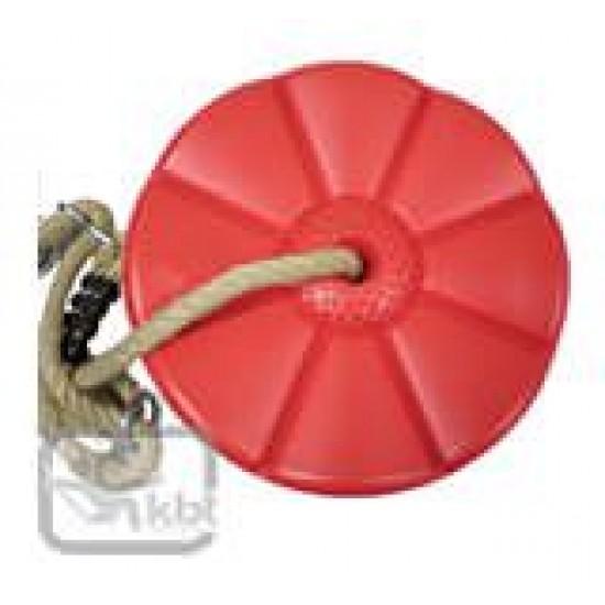Leagan rotund din plastic Monkey - Rosu