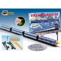 Trenulet electric calatori EUROCITY - Pequetren