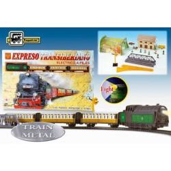 Trenulet electric calatori Expresul Transiberian - Pequetren