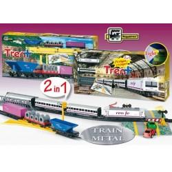 Trenulet electric calatori si marfa RENFE Tren - Pequetren