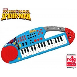 Orga electronica cu microfon Spiderman