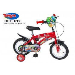 Bicicleta 12 Mickey Mouse Club House - Toimsa