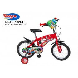 Bicicleta 14 Mickey Mouse Club House - Toimsa