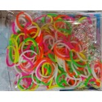 Elastice Rainbow Loom - Neon Mix Duo