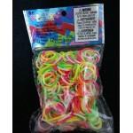 Elastice Rainbow Loom - Neon Mix Duo