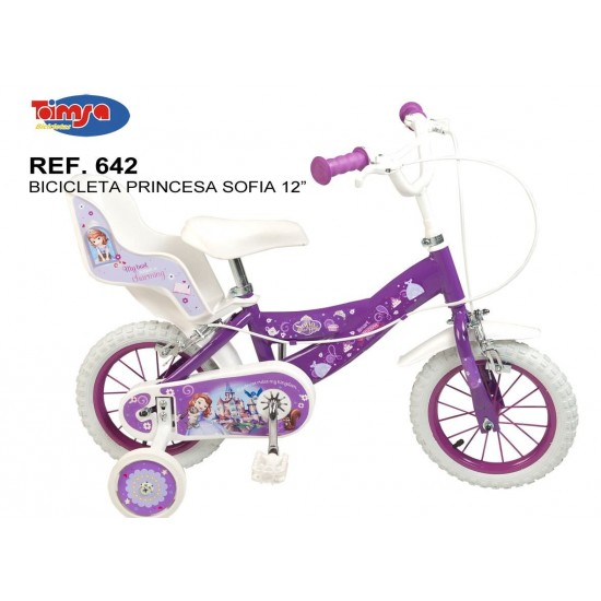 Bicicleta 12 - Printesa Sofia
