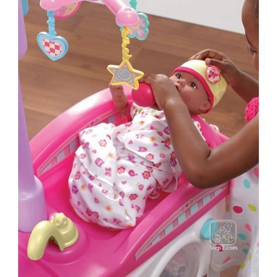 Mini cresa pentru copii Love & Care Deluxe Nursery