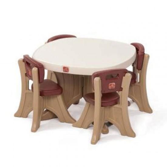 Set masuta si 2 scaune pentru copii - STEP2