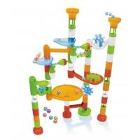 Joc de constructie - Labirint cu bile - 80 piese