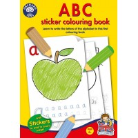 Carte de colorat cu activitati in limba engleza si abtibilduri - ABC