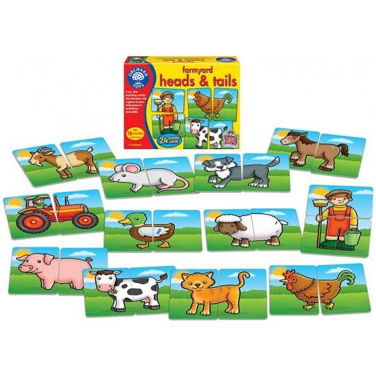 Joc educativ - Prietenii de la ferma 2