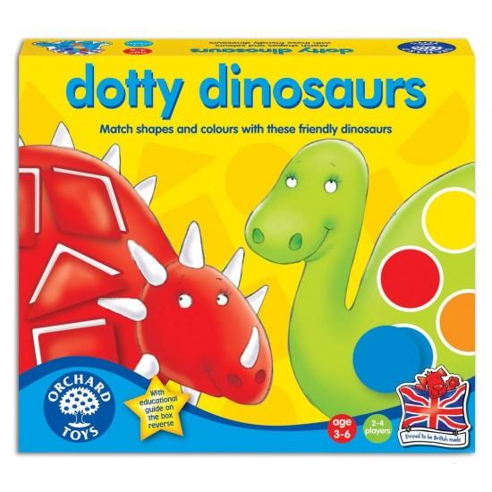 Joc educativ - Dinozaurii cu pete