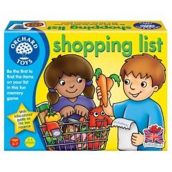 Joc educativ in limba engleza - Lista de cumparaturi