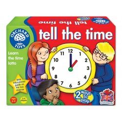 Joc educativ loto in limba engleza - Citeste ceasul