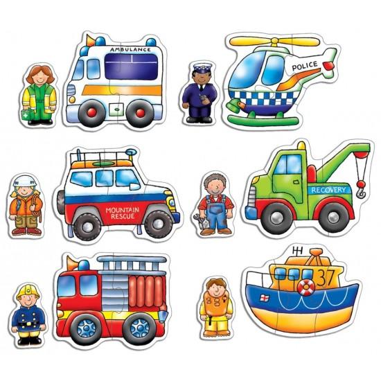 Set 6 puzzle - Echipa de salvare