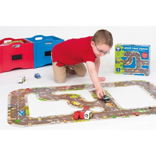 Puzzle gigant - Traseu masini