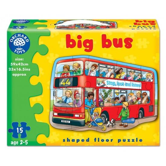 Puzzle de podea - Autobuzul