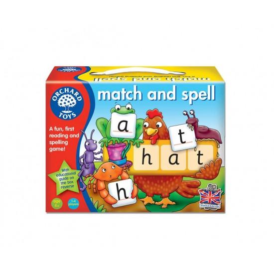 Joc educativ in limba engleza - Potriveste si formeaza cuvinte