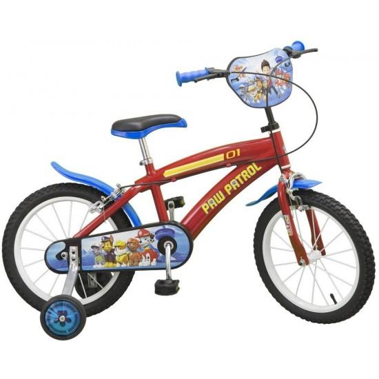 Bicicleta 16 Paw Patrol - Toimsa