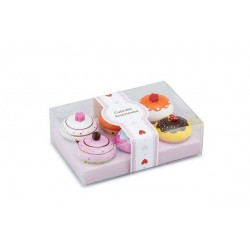 Set 6 briose in cutie de cadou - New Classic Toys