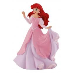 Figurina - Ariel in rochie roz