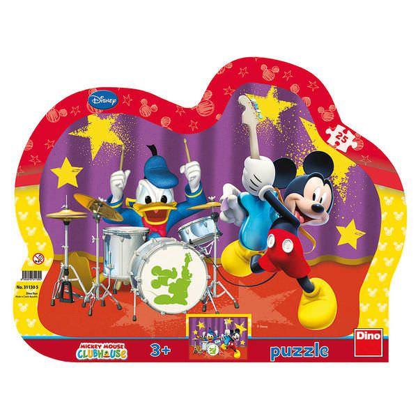 Puzzle cu rama - Formatia lui Mickey Mouse