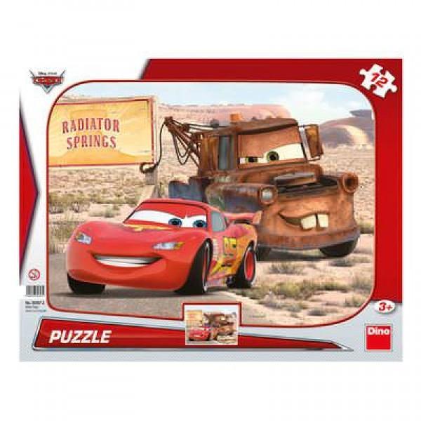 Puzzle - Peripetii cu Lightning McQueen