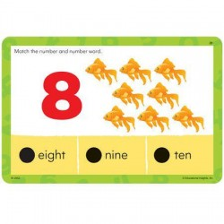 Carduri educative colorate Junior Hot Dots