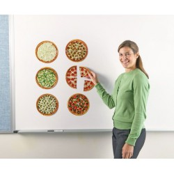 Pizza fractiilor cu magneti - Learning Resources